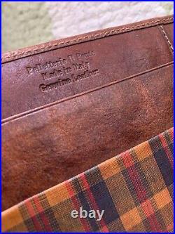 The Bridge vintage leather planner organizer