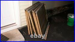 Two Vintage blueprint cabinet map art photo flat file woodpickupnw Indiana