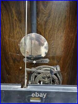 VINTAGE OAK TIME CLOCK Mfg by Intl. Business Machines for JC Penney Spokane 1927