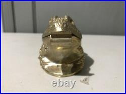 VINTAGE Ted Arnold gold tone FROG Tape Dispenser