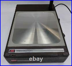 VTG 3M 6200AGB Folding Portable Overhead Transparency Projector New Bulb READ