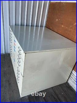 Vintage 10 Drawer Flat file Blueprint Cabinet with base 54 w