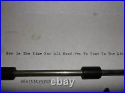 Vintage 1930s Royal Flat Bed Vintage Typewriter Glass Keys serviced and Tested
