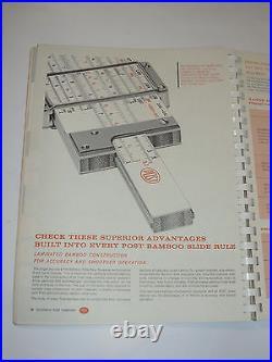Vintage 1959 Frederick Post Catalog! Toledo Stools/slide Rule/drafting Furniture