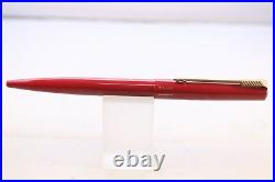 Vintage (1999) RARE Parker 15 Lacquered Red Fountain Pen & Ballpoint GT, Cased