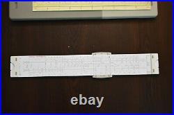 Vintage Aristo 0971 Hyperbolog Slide Rule German Engineering Calculator