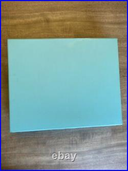 Vintage Authentic Tiffany & Co. Baby Journal Brand New Original Packaging
