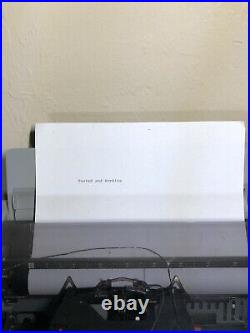 Vintage Brother WP-2500Q Word Processor Portable Typewriter Working