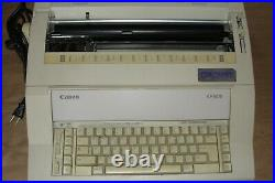 Vintage Canon Personal Typewriter Electronic AP5015 Powers up