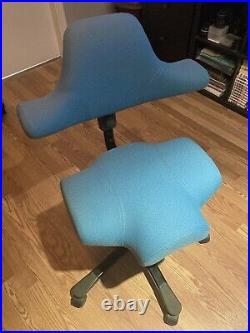Vintage Capisco Chair By HAG Blue