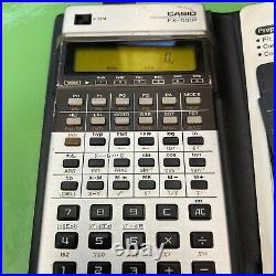 Vintage Casio FX-501P Programmable Scientific Calculator around 1979