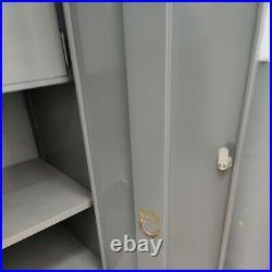 Vintage Cole Steel filing Cabinet with Safe