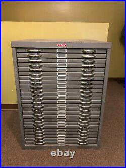 Vintage Foster Flat File 25 drawer Great used condition
