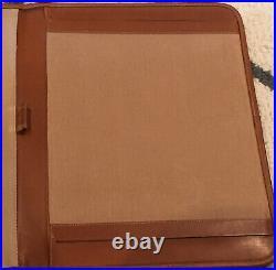 Vintage Ghurka Marley Hodgson Leather Notebook Cover Writing Portfolio Padfolio