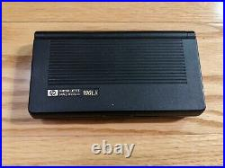 Vintage HP 100LX Palmtop PDA PC 1MB RAM Lotus 1-2-3, 5MB Flash Card