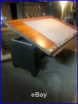 Vintage Hamilton Drafting Table Desk