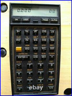 Vintage Hewlett-Packard 41CV Scientific Calculator