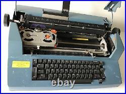 Vintage IBM Correcting Selectric III 3 Electric Typewriter Rare Blue Tested