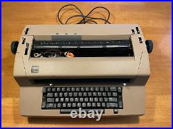 Vintage IBM Correcting Selectric III 3 Electric Typewriter. Used