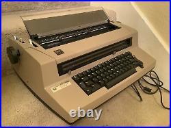 Vintage IBM Correcting Selectric III Typewriter Tan (see description)