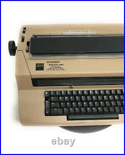 Vintage IBM Correcting Selectric III Typewriter with Courier Type Element