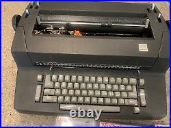Vintage IBM Selectric II Correcting Electric Typewriter Font Balls Ribbons