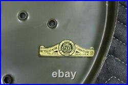 Vintage Industrial Toledo UHL Steel Stool