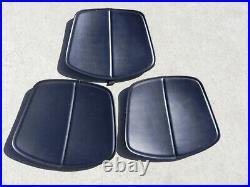 Vintage Knoll Chair Stool Pad Cushions 3 Pcs
