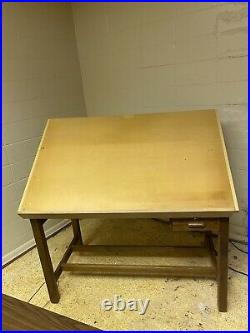 Vintage MAYLINE DRAFTING DRAWING TABLE