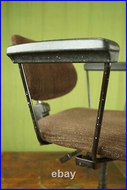 Vintage Office Chair Swivel Chair Desk Chair Architects Sedus 70er Braun