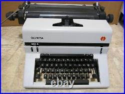 Vintage Olympia SG3 B Manual Typewriter