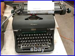 Vintage Olympia Script Typewriter