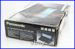Vintage Panasonic KX-WL50 Laptop Word Processor In Box, Manual, Power Fast Ship