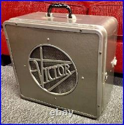 Vintage RCA Victor Altec Lansing Hollywood Art Deco Speaker for 16mm Projector