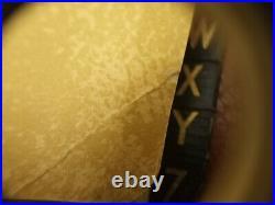 Vintage Rare Louis Vuitton Monogram Leather Cover Address Book