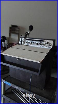 Vintage Sound Craft System Lecternette Model L56B & Microphone SC22