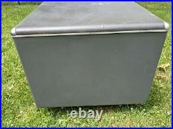 Vintage Steel Tanker Desk 60 x 32 x 29.5 Globe Wernicke industrial deco