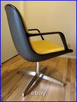 Vintage Steelcase Mid Century Modern Office Chair- golden yellow