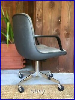 Vintage Steelcase Office Chair Mid Century Modern Knoll Pollock Era