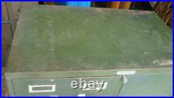 Vintage Steelmaster Military File Cabinet Safe Combo 21D003