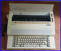 Vtg Olympia Mastertype 3 Typewriter Tested & WorksModel #EW-1000Free Ship